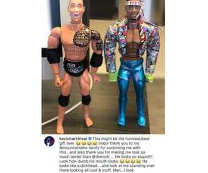 Dwayne Johnson, funny moments, and friendship image