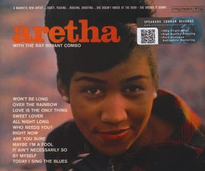 1961, aretha franklin, and queen of soul image