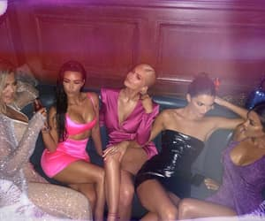 kourtney kardashian, kendall jenner, and kylie jenner image