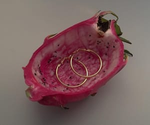 earrings and fruit image