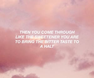 aesthetic, quote, and sky image