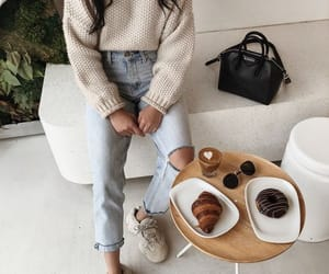 coffee, donuts, and enjoy image
