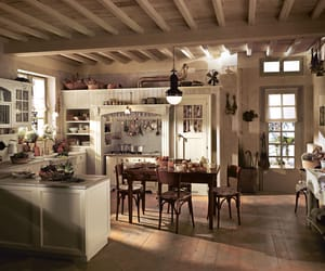 design, interiors, and kitchen image