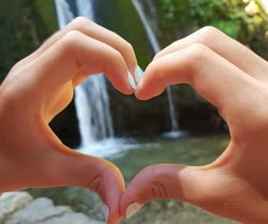 heart, nature, and love image