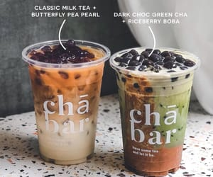 beverages, boba, and coffee image