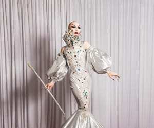 ru paul drag race and sasha velour image