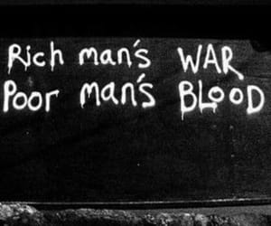 war, rich, and poor image
