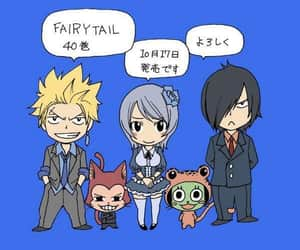 ft, fairy tail, and sabertooth image
