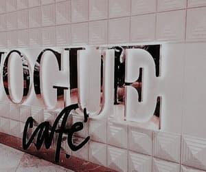 vogue, rose gold, and cafe image
