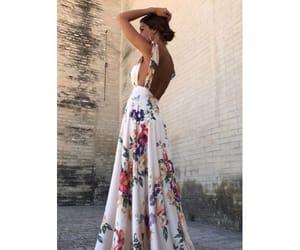 back, elegant, and woman image