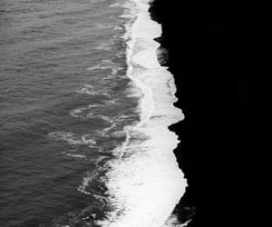 beach, clear, and black image