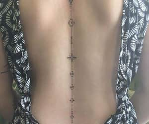 back, spine, and tattoo image