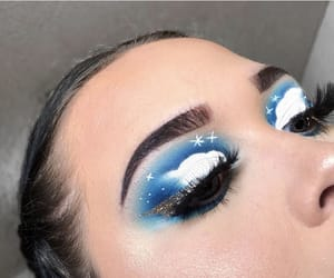 cloud, cloudy, and eyebrows image