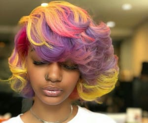 curls, purple, and ♡ambitious_allure♡ image