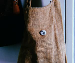 bag, button, and hippie image