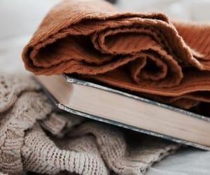 autumn, book, and books image