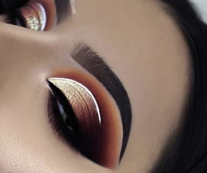 beautiful, cosmetics, and eyeshadow image