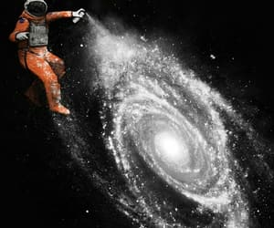 space, galaxy, and art image