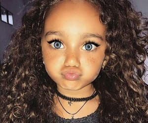 girl, beauty, and baby image