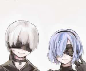 ghoul, kirishima, and kaneki image