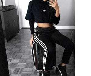 adidas, girls, and outfit image