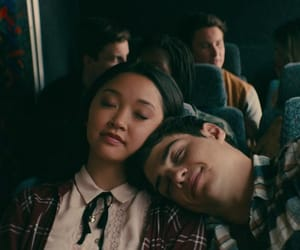 couple, love, and lara jean image