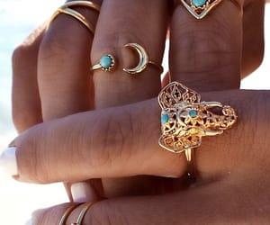 boho, elephant, and jewellery image