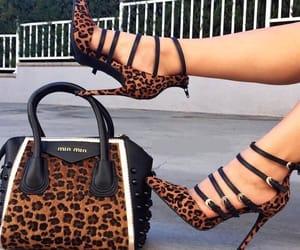 bag, shoe, and high heels image