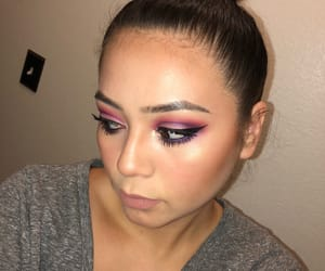 makeup, pink, and motd image