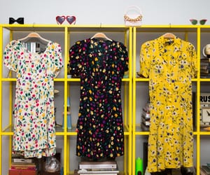 betsey johnson, floral, and dresses image