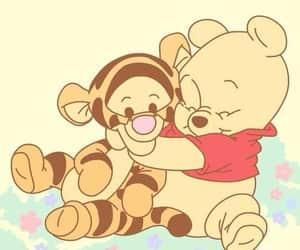 disney, winnie the pooh, and tigger image