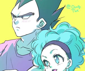 brief, cartoon, and vegeta image