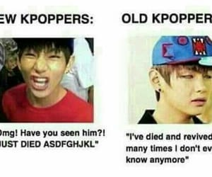 kpop, memes, and v image