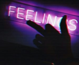 aesthetic, feelings, and neon image