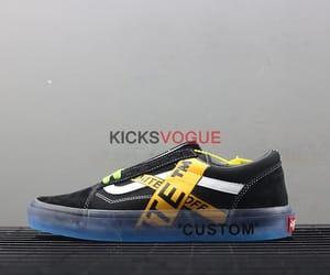 custom, custom shoes, and off-white image