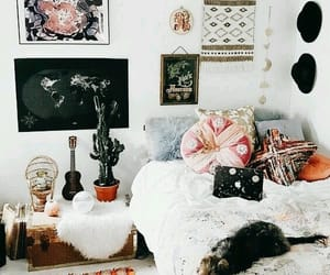 boho and room image