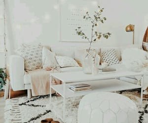 couch, interior design, and decoration image