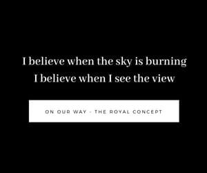 background, black, and Lyrics image