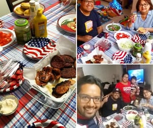 4th of july, family, and bbq image