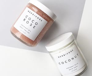 coconut, white, and beauty image
