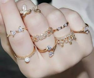 jewellery, girly, and rings image