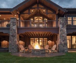 house, inspiration, and lake image