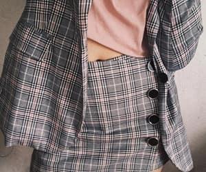 fashion, pattern, and skirt image