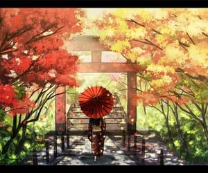 anime, japan, and kimono image
