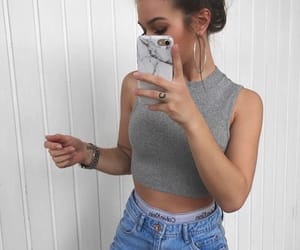outfit, fashion, and iphone image
