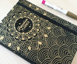 diy, notebook cover, and back to school image