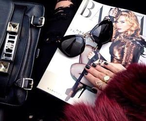 fashion, magazine, and nails image