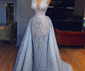 beautiful, fancy, and gown image