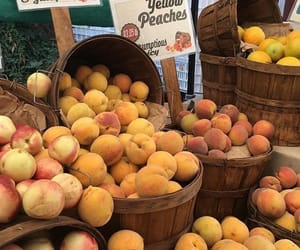 peach, yellow, and fruit image