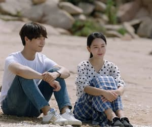 couple, Korean Drama, and love image